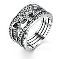 """Серебряное кольцо Пандора (Pandora) """"Бесконечное сияние"""""""