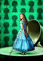 Картина 40х60 см Алиса в Стране чудес  Алиса и чашка