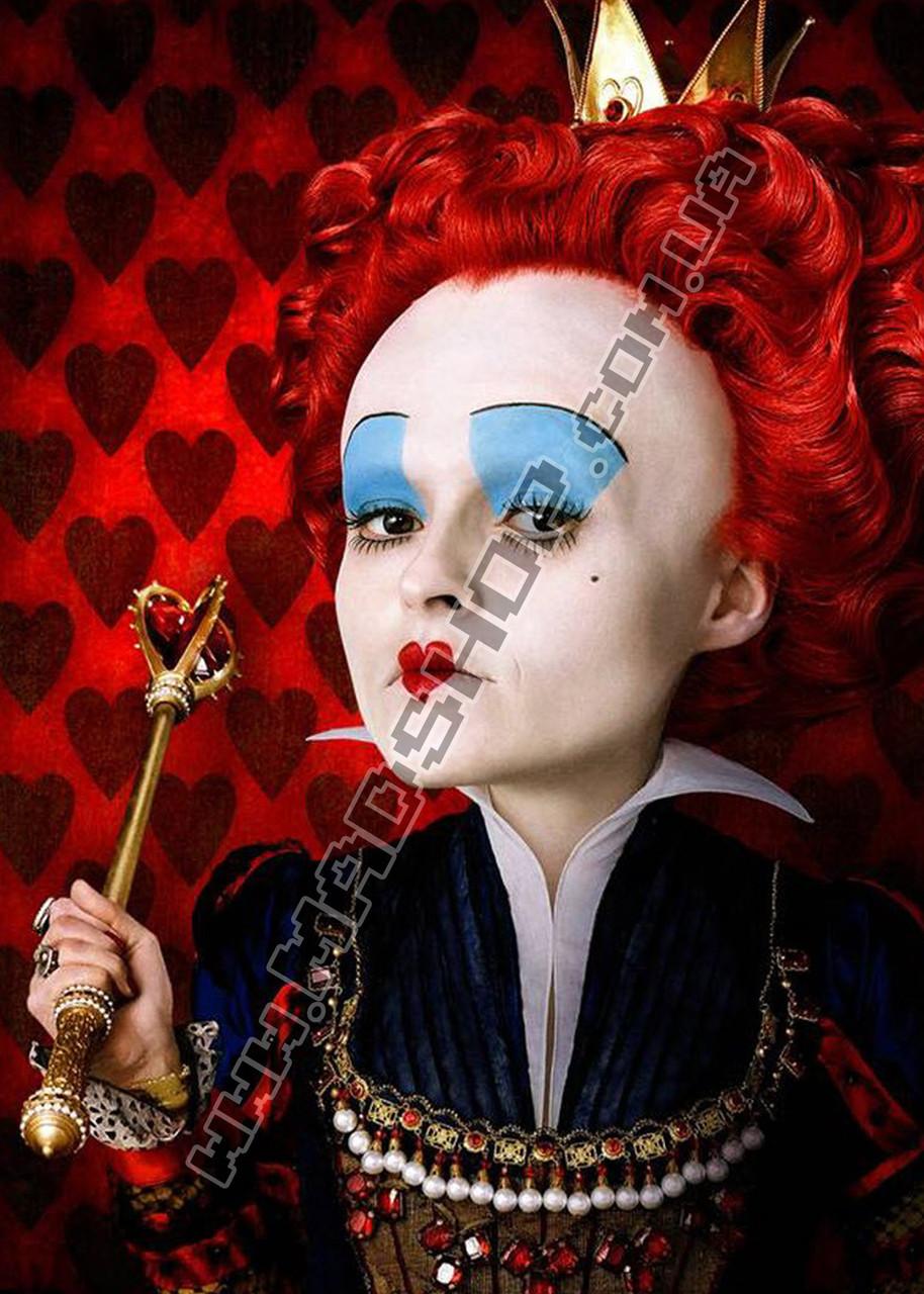 Картина 40х60 см Алиса в Стране чудес Королева