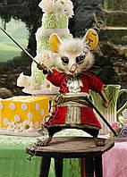 Картина 40х60 см Алиса в Стране чудес Мышь