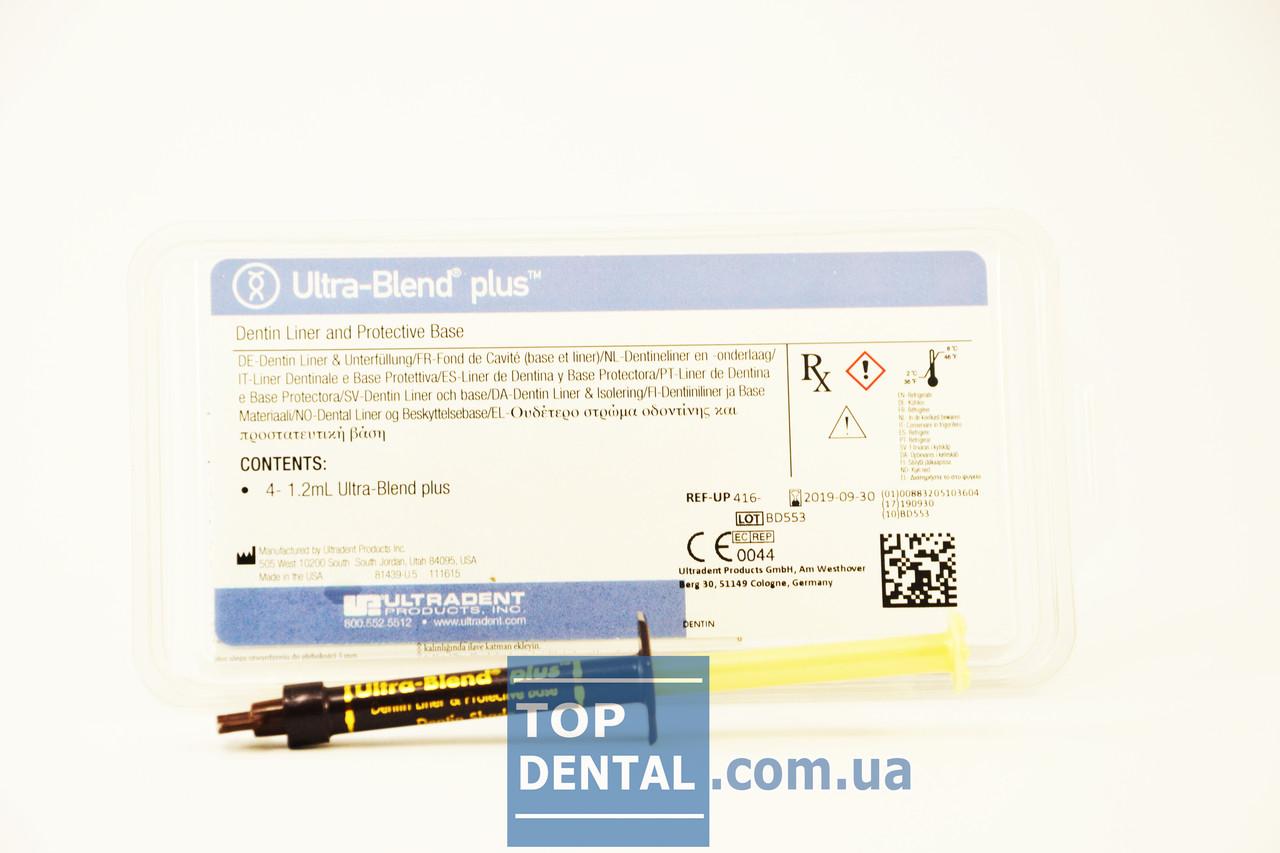 Ultra-Blend plus (УльтраБленд плюс), шприц 1.2 мл - TopDental - интернет-магазин стоматологических товаров в Виннице