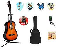 Гітара класична  4/4 тюнер