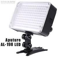 Накамерне світлодіодний світло Aputure Amaran AL-198, 5500K (3200K/фільтр)., фото 1