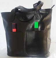 Женская классическая сумка из натуральной кожи 7