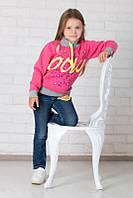 Детский свитер (толстовка) для девочки *Анимал принт*