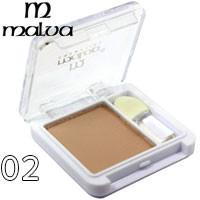 Malva - Тени для век 1-цветные M-374 Тон 02 теплый беж матовые