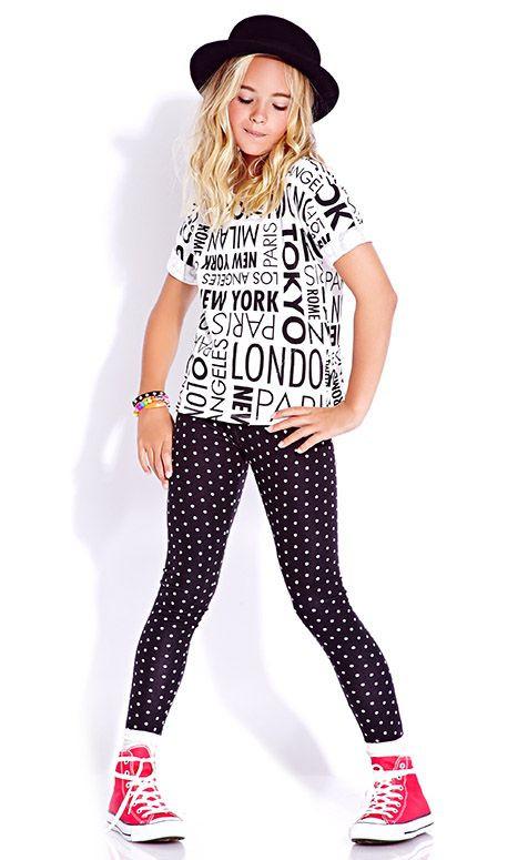 Комплект Люси (лосины и футболка)