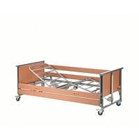 4-х секционная кровать Medley Ergo с электроприводом стальные ламели +деревянные поручни Invacare Германия