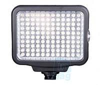 Накамерный светодиодный свет LED-5009, 5500K-6500K (3500K/фильтр) + АБ + З/У.