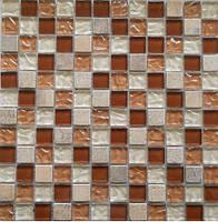 Мозаика для стен из натурального камня Vivacer DAF9