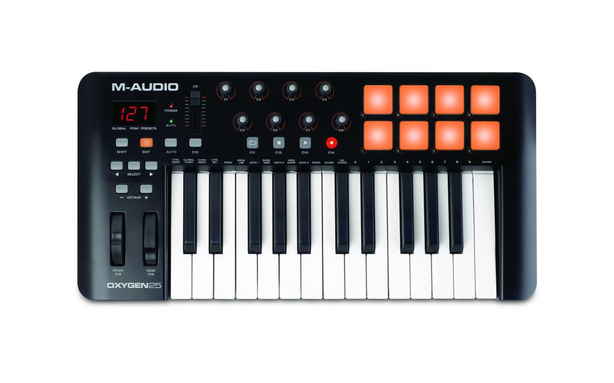 MIDI-клавіатура M-Audio Oxygen 25 IV