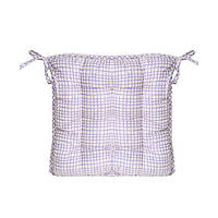 Подушка на стул Бузкова клітинка 40х40см ТМ Прованс # Andre Tan