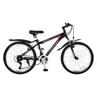 """Велосипед 24"""" ELITE 24.2 черный"""