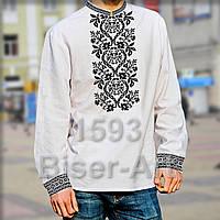 Заготовка для вишивки чоловічої сорочки 1593 на габардині ada8a6538ad12
