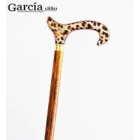 Трость с модной акриловой рукояткой дерево Гарсия Garcia Испания