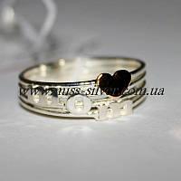Кольцо с надписью Мама