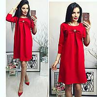 Платье женское, модель 774, красное