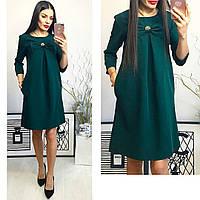 Платье женское, модель 774, зеленое