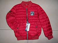 Подростковая демисезонная весенняя куртка Nature 134-164 розница
