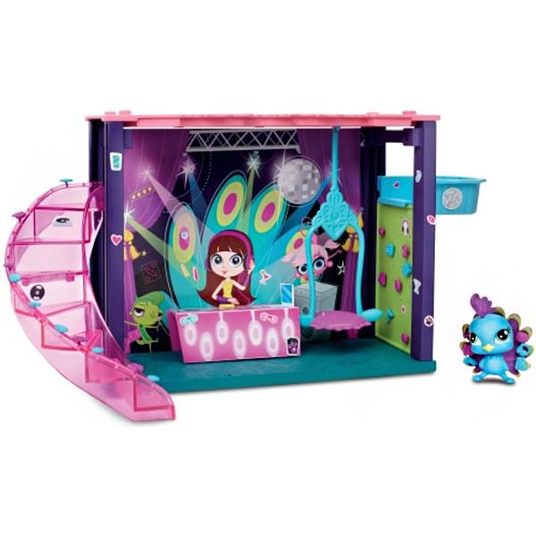 Littlest Pet Shop - Міні-ігровий набір DJ Блайс. Мини-игровой набор DJ Блайс (Dance Club)