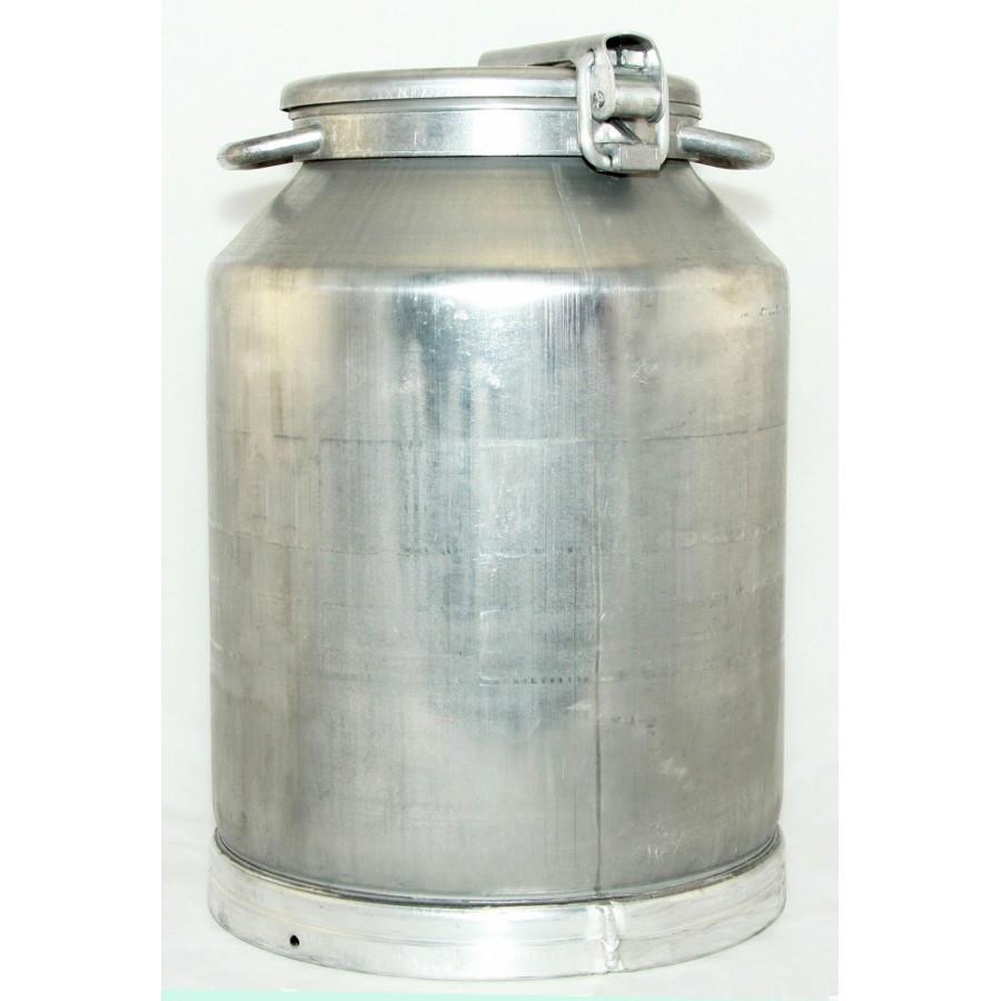 Бидон молочный алюминиевый на 40 литров пр-во Калитва