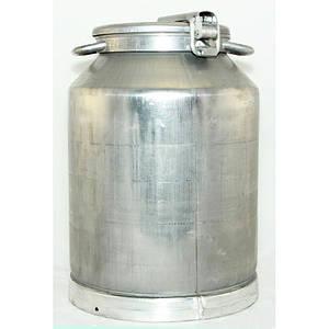 Бидон молочный алюминиевый на 25 литров пр-во Калитва