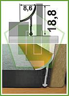 АВП. Внутренний угол для плитки, универсальный анодированный