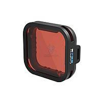 """Сменный, фото-видео фильтр в синей (море, бассейн) воде под корпус GoPro """"Super Suit Blue Water Snorkel Filter"""" для HERO5 Black (AACDR-001)"""