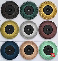 3M™ 33214 Scotch-Brite™ Bristle BB-ZB - Радиальная щетка, ø150Х12 мм, Р400, тип C, синий, фото 2