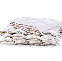 Одеяло пуховое кассетное Зима MirSon DeLuxe белый пух 100 % ДеЛюкс 030 зимнее 155х215 см вес 930 г.
