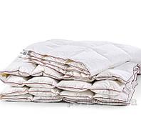 Одеяло пуховое кассетное Зима MirSon DeLuxe белый пух 100 % ДеЛюкс 030 зимнее 220х240 см вес 1500 г.