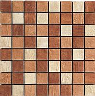 Мозаика микс керамогранитная на сетке Zeus MQAX MIX