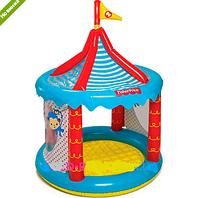 Игровой центр детский бассейн Цирк надувной с 25 шариками 93505