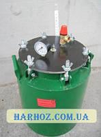 Автоклав зеленый маленький барашки (1л-5шт, 0,5л-12шт)