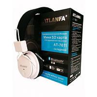 Беспроводные Bluetooth наушники Atlanfa AT-7611 с MP3 плеером и FM радио