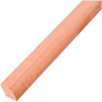 Уголок радиальный Woodprofile сосна 2600х12х12 мм