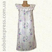 Ночная сорочка женская ситцевая рюшевая