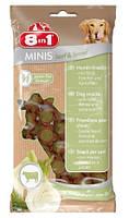 8in1 MINIS для собак с говядиной и фенхелем 100 гр
