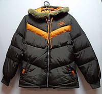 Куртка детская ADIDAS коричневая
