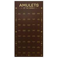 """""""Amulets of the World"""" материал композит на 40 шт / Стенд для Амулетов 36x70 см"""