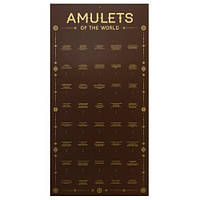 "Стенды и Комплектующие к Амулетам / Стенд на 40 ""Amulets of the World"", материал композит 36x70 см"