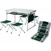Стол-чемодан + 4 складных стульчика Ranger