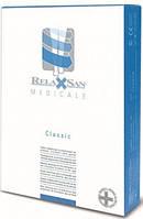 Чулки с хлопком класс 2 с открытым носком Relaxsan Италия