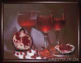 Набор для вышивки бисером Гранатовый сок