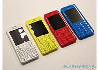 Мобильный телефон Nokia Duos J206 (2 сим карты 2 sim) металло-пластиковый
