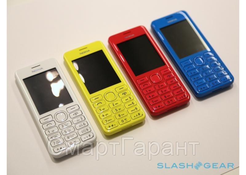 """Мобильный телефон Nokia 206 на 2 Sim 2,4"""" экран - СмартГарант в Харькове"""
