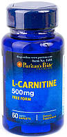 Puritan's Pride L-Carnitine 500 mg (60 капс.)