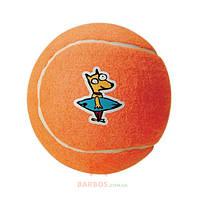 Игрушка для собак мелких и средних пород Теннисный мяч Molecule Ball M  (Рогз) Rogz (оранжевый)