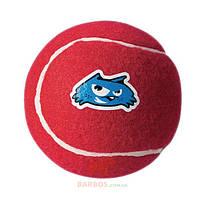 Игрушка для собак мелких и средних пород Теннисный мяч Molecule Ball M  (Рогз) Rogz (красный)