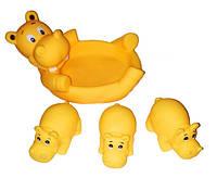 Животное 6327-8 для купания, Бегемоты